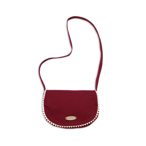 Winter Cranberry Satchel