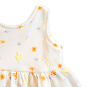 California Superbloom Peplum Tank