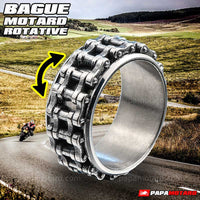 Bague Motard Rotative