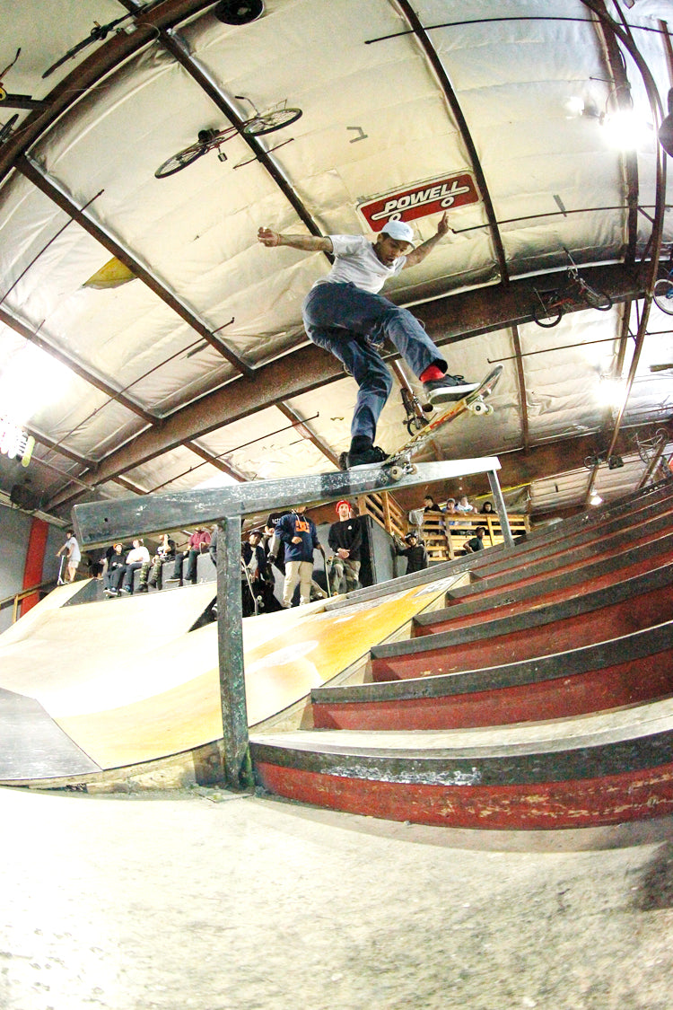 Boo Johnson Backside Tailslide