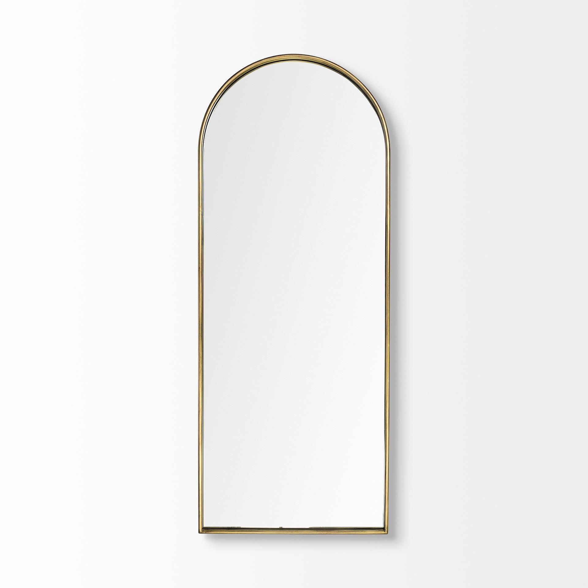 Agatha Arch Metal Framed Mirror