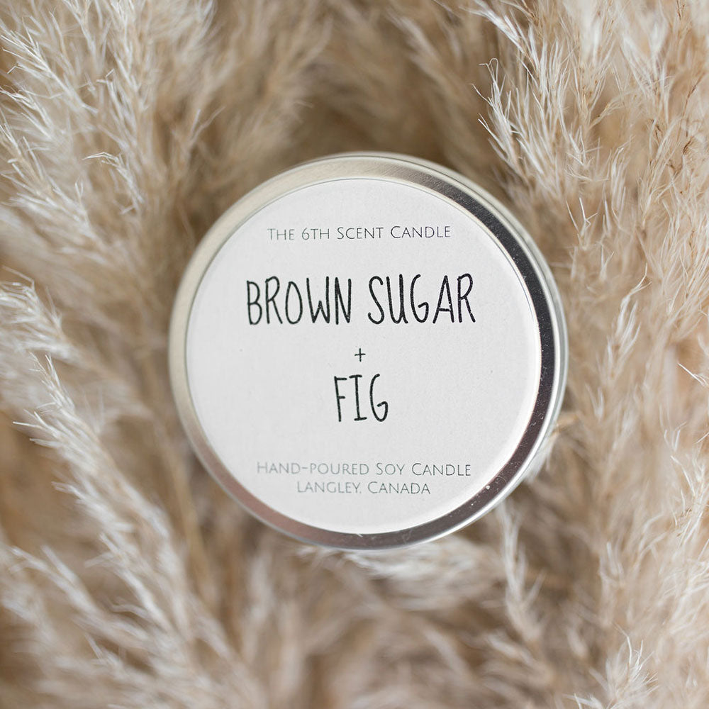 Brown Sugar & Fig Soy Candle