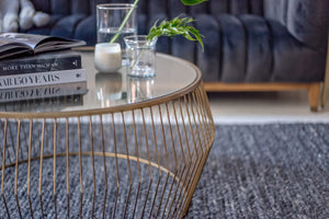 Cyclone Wire Coffee Table