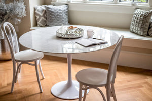 Flute Round Dining Table