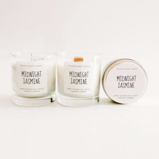 Midnight Jasmine Soy Candle