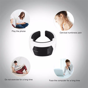 Wireless Remote Control Neck Therapy Massage