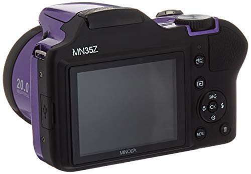 Minolta 20 0-Megapixel 1080p Full HD Wi-Fi® MN35Z Bridge