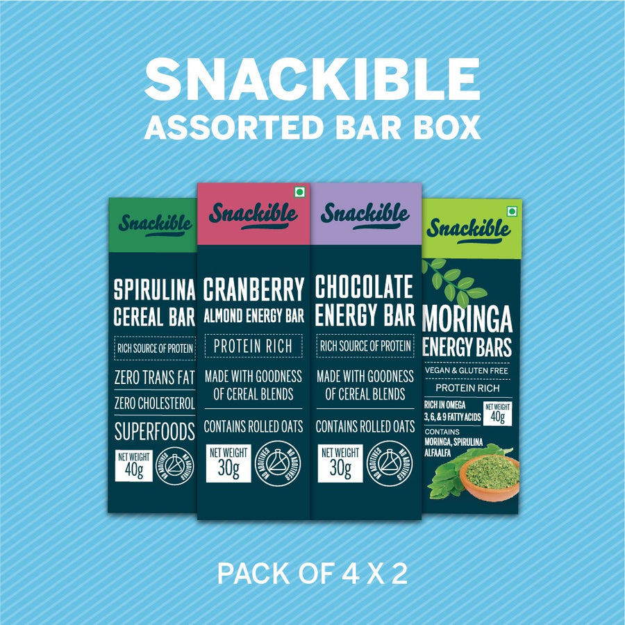 Assorted Pack of Bars (Saver Pack)
