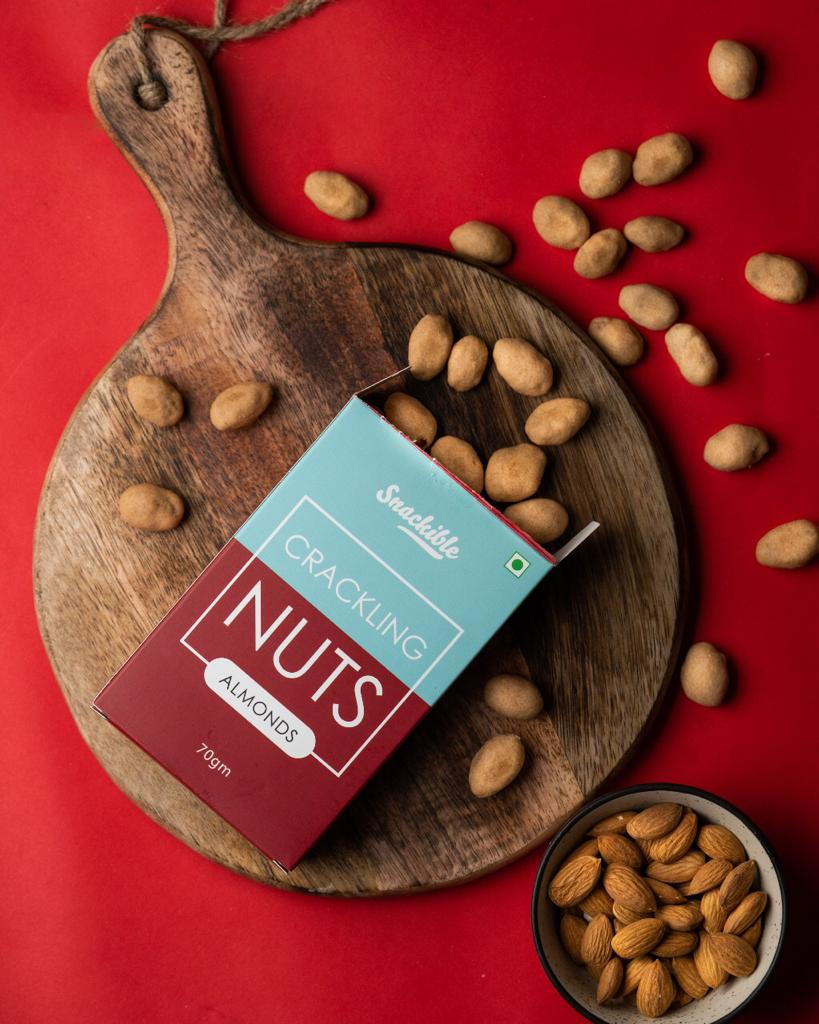 Spiced Crackling Nuts - Almonds