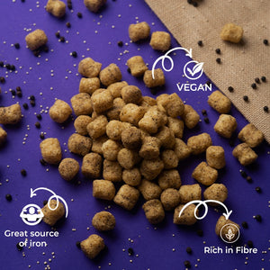 Black Pepper Quinoa Puffs
