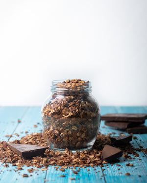 Quinoa Dark Chocolate Granola