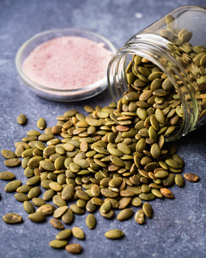 Himalayan Pink Salt Pumpkin Seeds