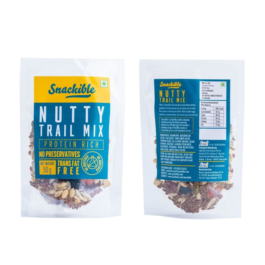 Nutty Trail Mix