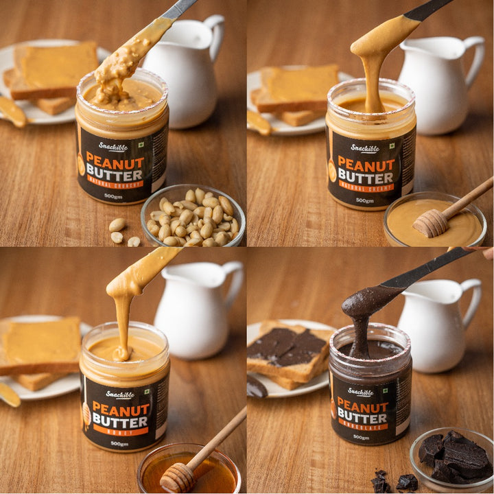 Peanut Butter Combo (Pack of 4)