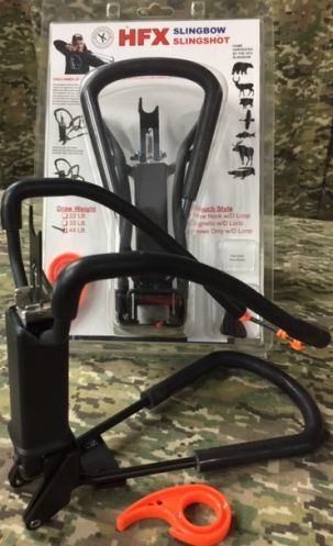 HFX Slingbow with Arrows Only Rig & QuickFire Archers Release - Berserker Blowguns