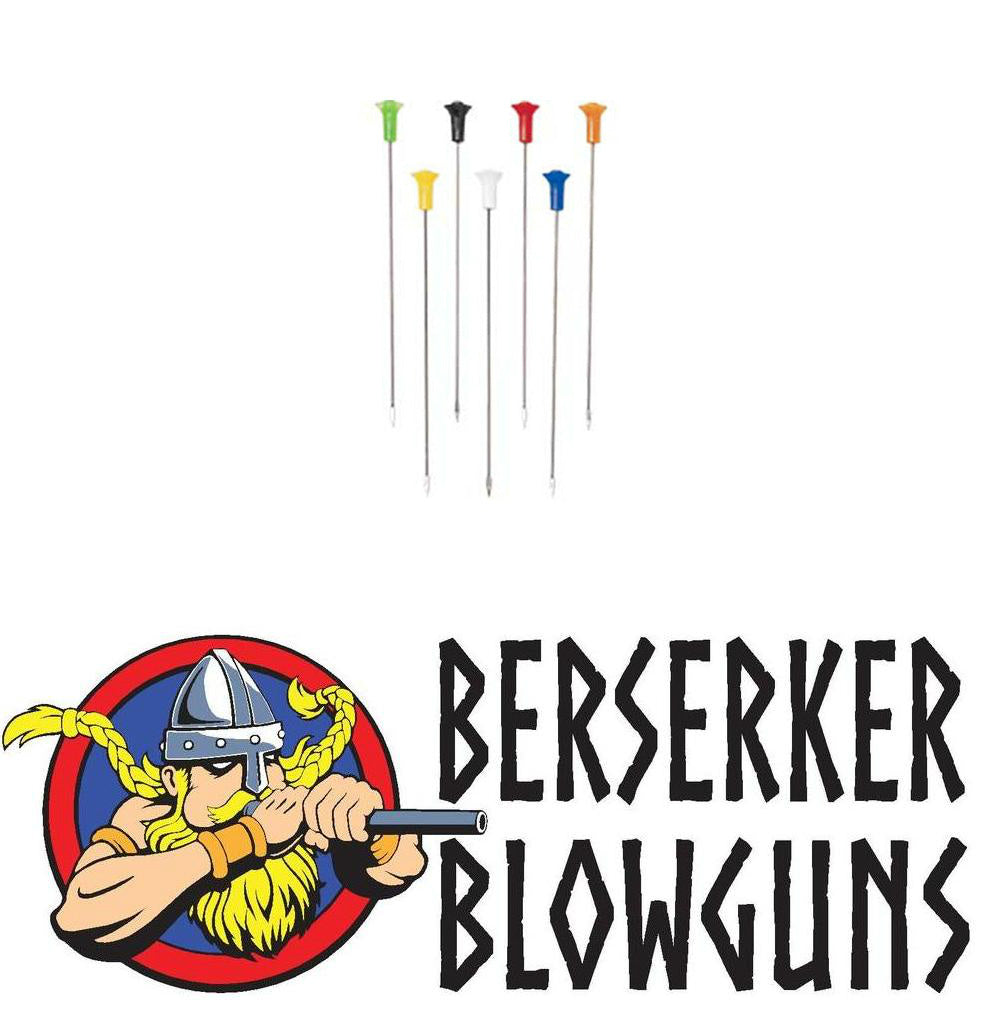 "Berserker .40 cal 4"" High Speed Spearhead Darts - Berserker Blowguns"