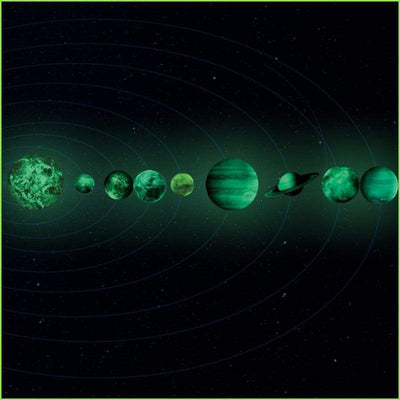 Glowing Planets Decals - Decals
