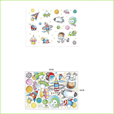 Cartoon Space Decals - Decals