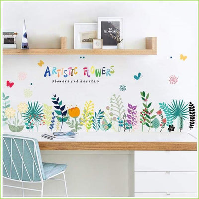 Botanical Skirting Border - Sticker