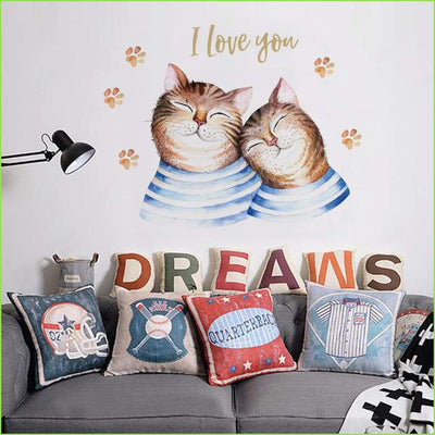 Cat Wall Stickers - Sticker