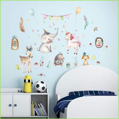 Watercolour Animal Decals - Decals