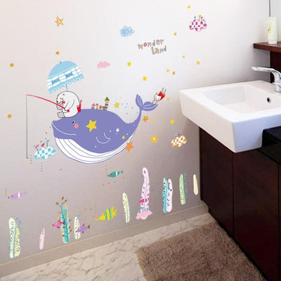 Whale Wonderland Decal