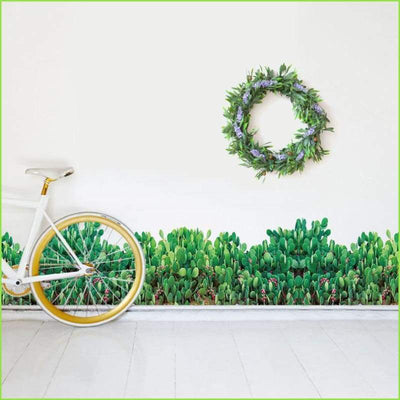 Green Skirting Border - Decals