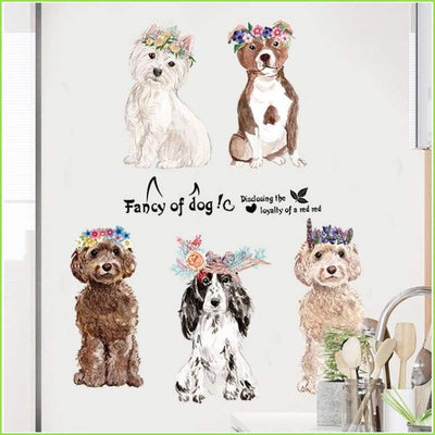 Cute Dogs Decal - Decals