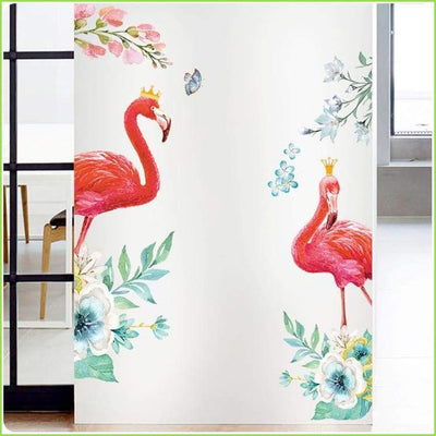 Mr & Mrs Flamingo Decal - Decals