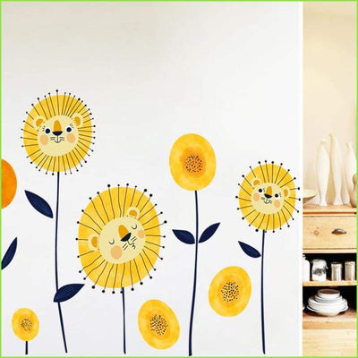 Sun Flower Wall Decals - Decals