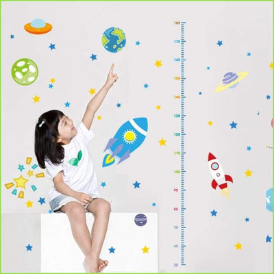 Space Height Chart - Decals