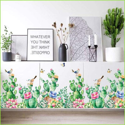 Colourful Skirting Border - Sticker