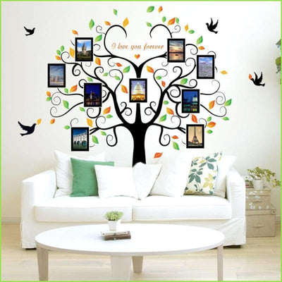 Picture Frame Family Tree Decal - Decals