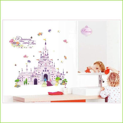 Fairytale Castle Wall Decal - Decals
