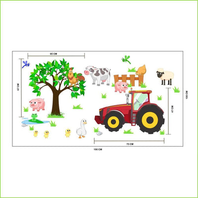 Wsfk Farm Tractor Wall Decals - Decals