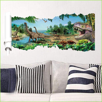 Jurassic World Decals on WallStickersForKids