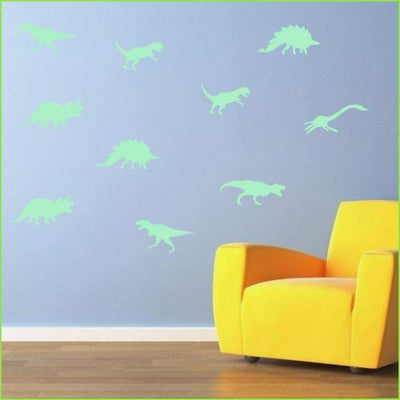Glow in the Dark Dinosaurs on WallStickersForKids