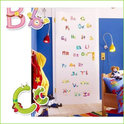 Alphabet Wall Sticker Decals on WallStickersForKids