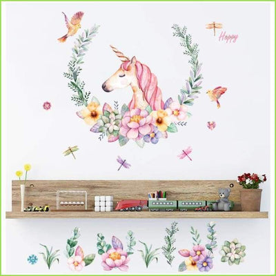 Beautiful Unicorn Wall Sticker on WallStickersForKids
