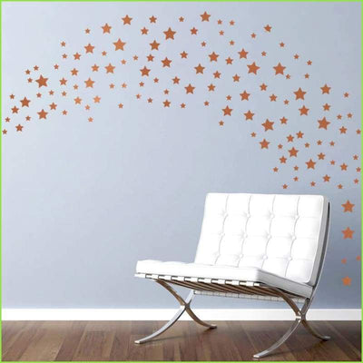 Gold Stars Wall Stickers on WallStickersForKids