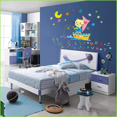 Alphabet Sea Wall Decals on WallStickersForKids