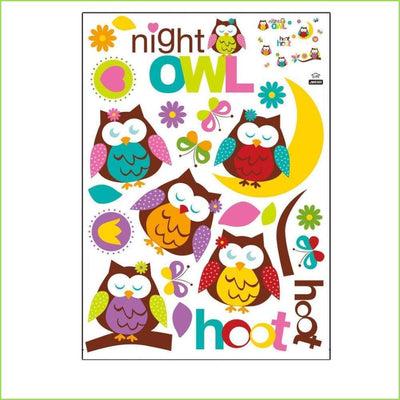 Owl Wall Stickers on WallStickersForKids