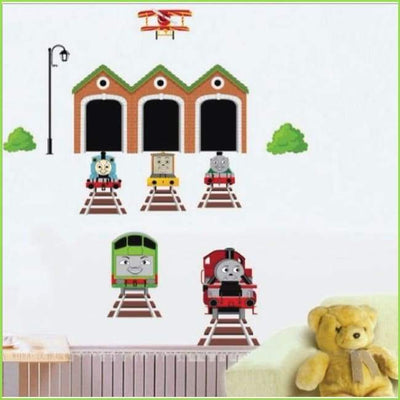 Thomas the Tank Engine Decal on WallStickersForKids