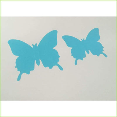 Blue 3D Butterfly Stickers on WallStickersForKids