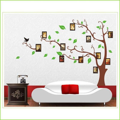 Family Photo Tree Wall Art Stickers on WallStickersForKids