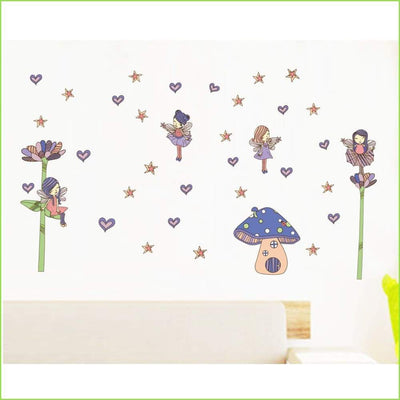 Fairy Door Wall Stickers on WallStickersForKids