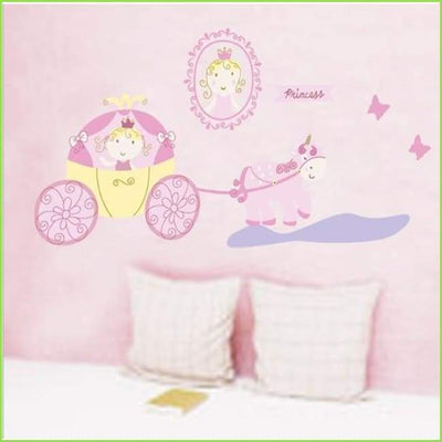 Pink Princess Set Decals on WallStickersForKids