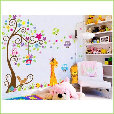 Lion Jungle Wall Decal on WallStickersForKids