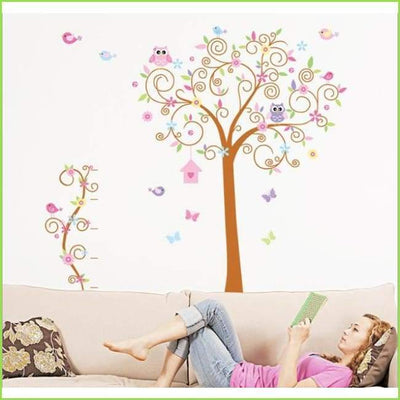 Large Swirl Tree Sticker on WallStickersForKids