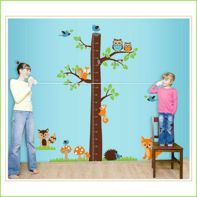 Deluxe Height Chart Decal on WallStickersForKids